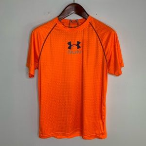 Under Armour Heat Gear Fitted Running Active Shirt